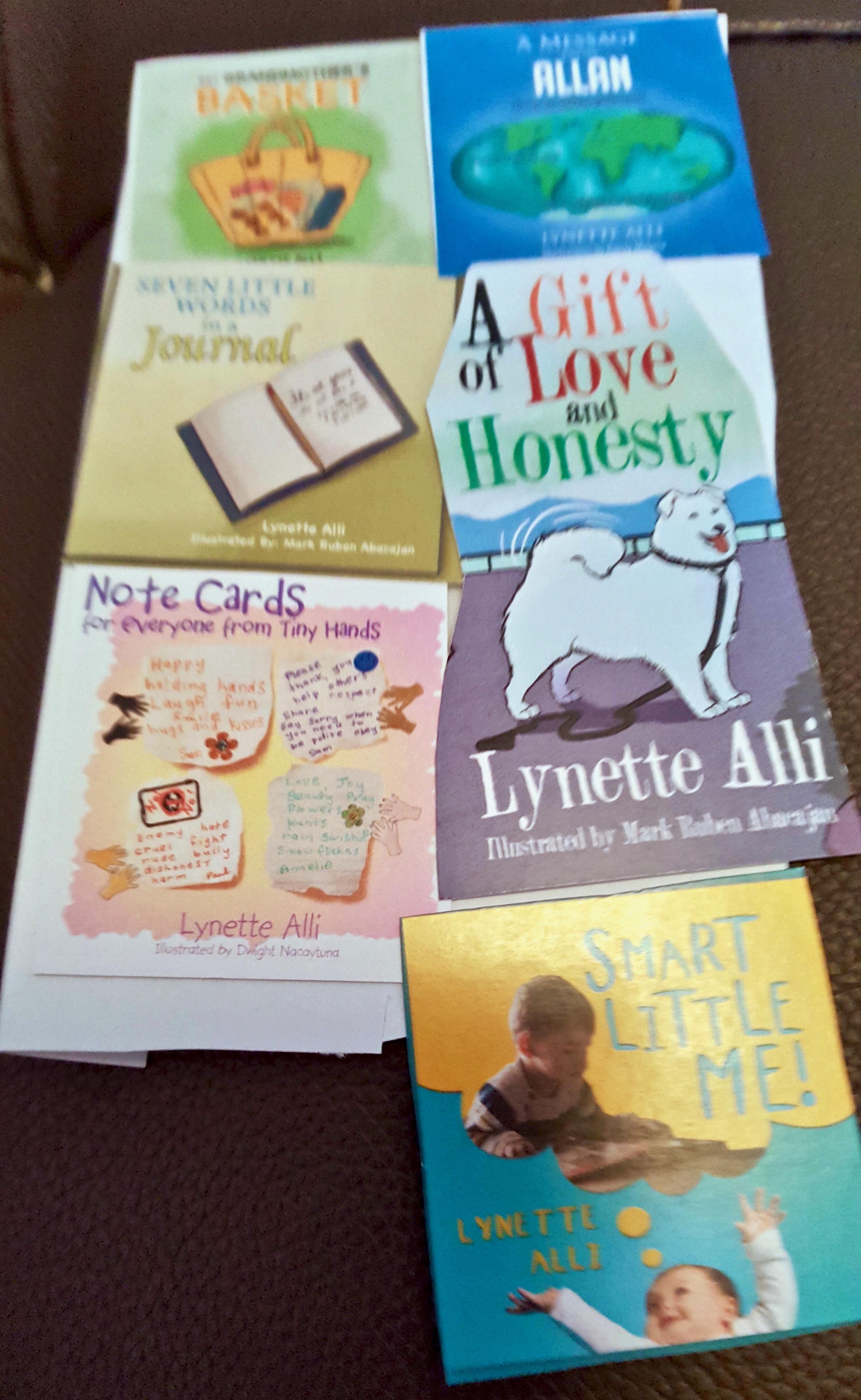 Lynette Alli Book Covers (1)